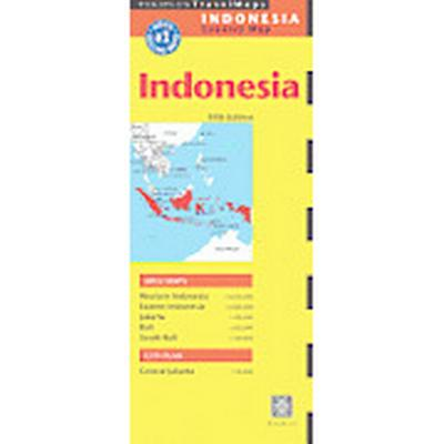 Indonesia Travel Map (, 2013)