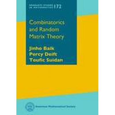 Combinatorics and Random Matrix Theory (Inbunden, 2016)