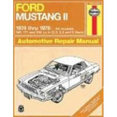 Ford Mustang II 1974-78 All Models Owner's Workshop Manual (Häftad, 1988)