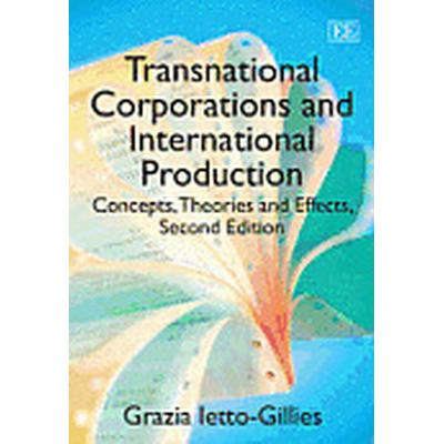 Transnational Corporations and International Production (Häftad, 2012)