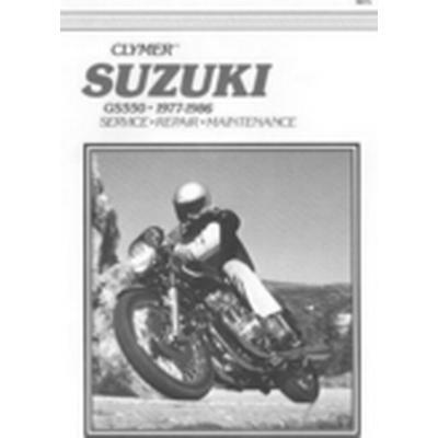 Suzuki GS550, 1977-1986 (Häftad, 1987)