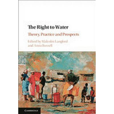 The Right to Water (Inbunden, 2017)