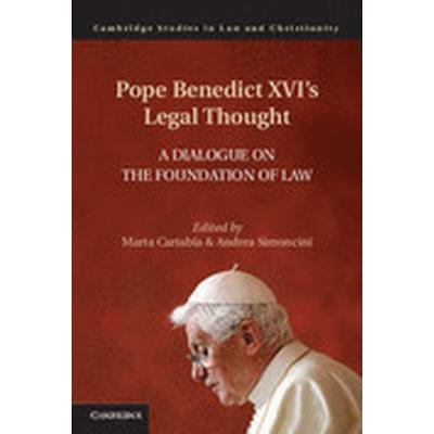 Pope Benedict XVI's Legal Thought (Inbunden, 2015)