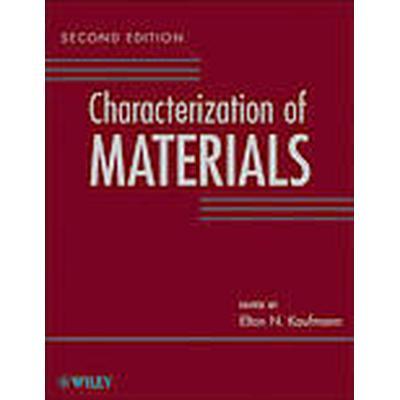 Characterization of Materials (Inbunden, 2012)