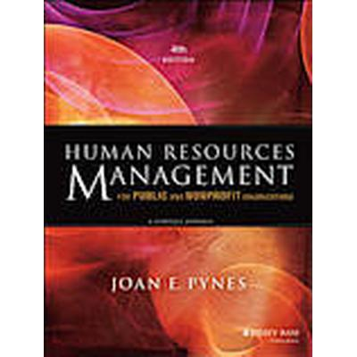 Human Resources Management for Public and Nonprofit Organizations (Häftad, 2013)