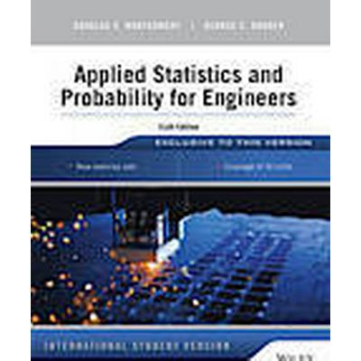 Applied Statistics and Probability for Engineers (Häftad, 2014)