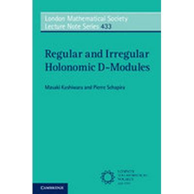 Regular and Irregular Holonomic D-Modules (Häftad, 2016)