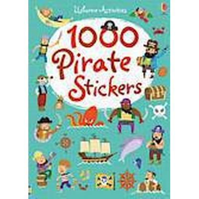 1000 Pirate Stickers (Häftad, 2014)