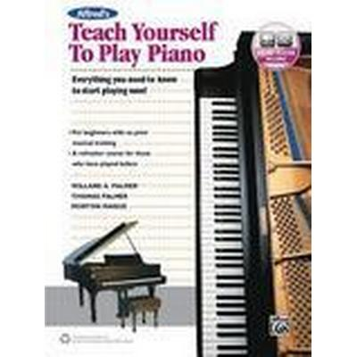 Alfreds Teach Yourself To Play Piano (Häftad, 2016)