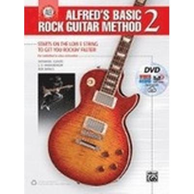 Alfreds Basic Rock Guitar Method Bk Dvd (Häftad, 2016)