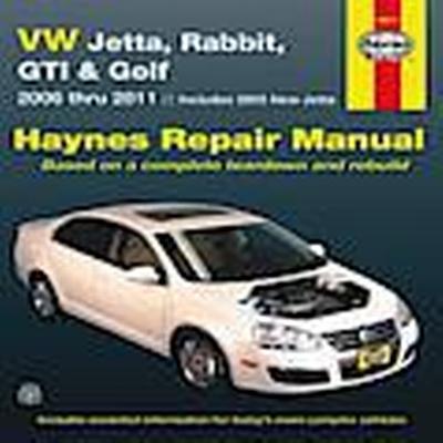 VW Jetta, Rabbit, GI, Golf Automotive Repair Manual (Häftad, 2012)