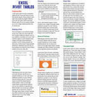 Excel Pivot Tables Laminated Tip Card (, 2013)
