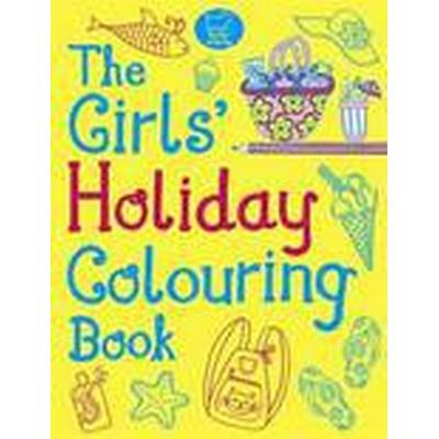 The Girls' Holiday Colouring Book (Häftad, 2012)