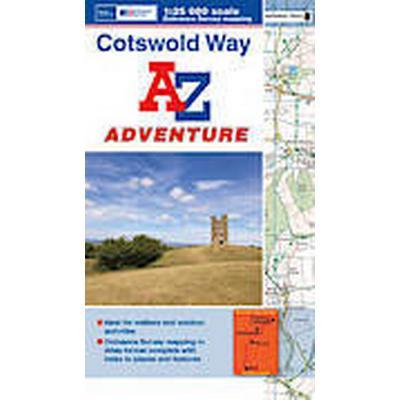 Cotswold Way Adventure Atlas (Häftad, 2013)