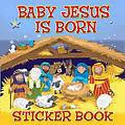 Baby Jesus is Born Sticker Book (Häftad, 2011)