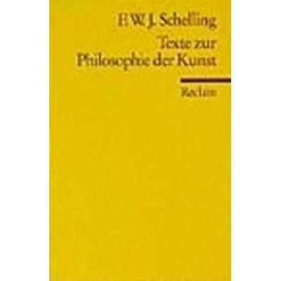 Texte zur Philosophie der Kunst (Häftad, 1986)