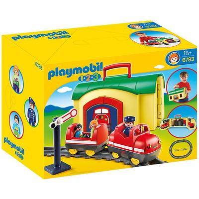 Playmobil 1 2 3 My Take Along Train 6783