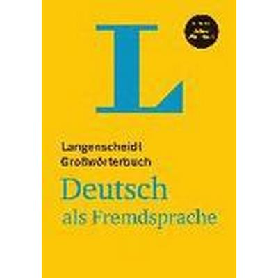 Langenscheidts Grossworterbuch Deutsch Als Fremdsprache (Inbunden, 2015)