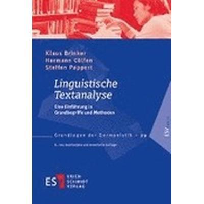 Linguistische Textanalyse (Häftad, 2014)