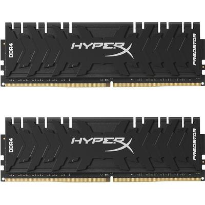 HyperX Predator Black DDR4 3200MHz 2x8GB for Intel (HX432C16PB3K2/16)