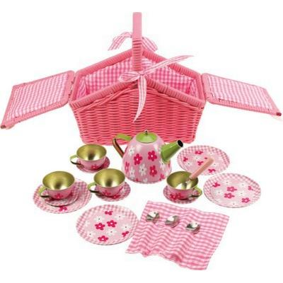 Bigjigs Basket Tea Set