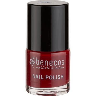 Benecos Nail Polish Happy Nails Cherry Red 9ml