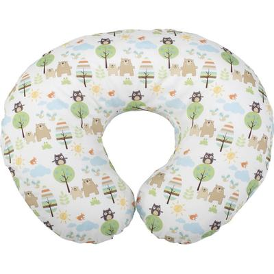 Chicco Boppy Pillow with Cotton Slipcover Woodsie