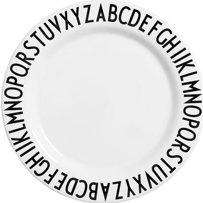 Design Letters Melamine Plate 20cm