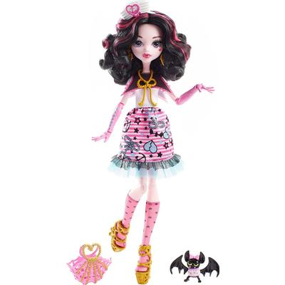 Monster High Shriekwrecked Nautical Ghouls Doll Draculaura DTV90