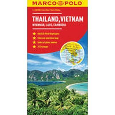 Thailand, Vietnam, Laos, Cambodia Marco Polo Map (, 2011)