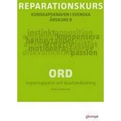 Reparationskurs Ord Kop pärm + Lhl (, 2011)