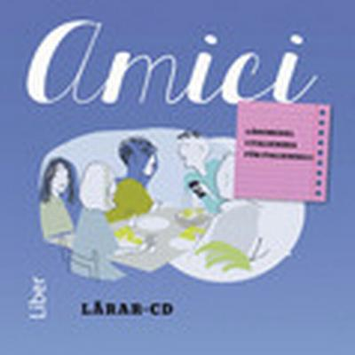 Amici Lärar-cd 1-2 - Italienska för nybörjare (, 2015)