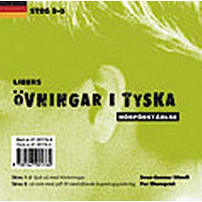 Libers övningar i tyska: Hörförståelse, steg 3-5 (Ljudbok CD, 2006)