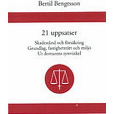 21 uppsatser Skadestånd och försäkring. Grundlag, fastighetsrätt och miljö. Ur domarens synvinkel (Inbunden, 2003)