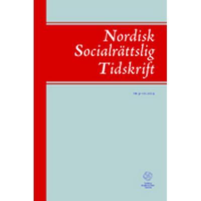 Nordisk socialrättslig tidskrift 9-10(2014) (Häftad, 2014)