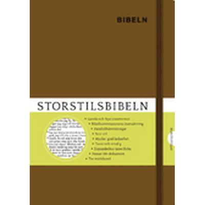 Storstilsbibeln Brun (Inbunden, 2016)