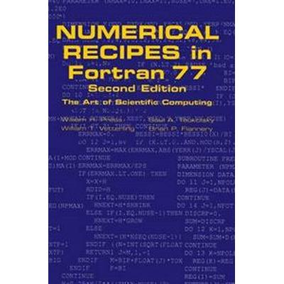 Numerical Recipes in FORTRAN 77: Volume 1, Volume 1 of Fortran Numerical Recipes (Inbunden, 1992)