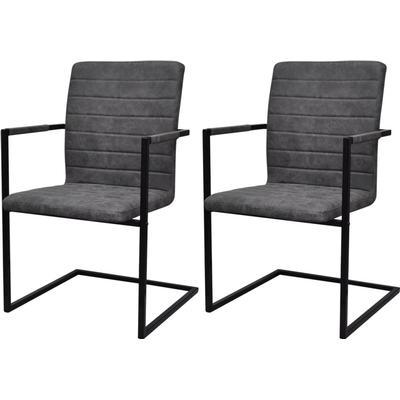 vidaXL Cantilever Chair Köksstol, Karmstol, Kontorsstol