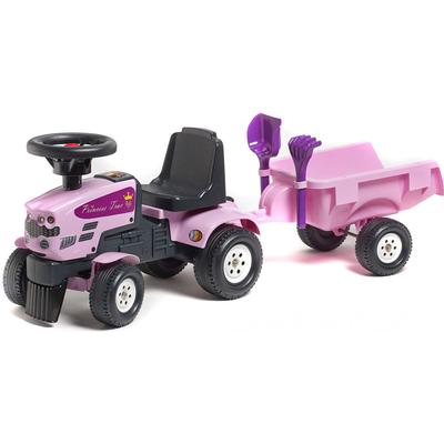 Falk Baby Princess Trac & Trailer + Rake & Shovel
