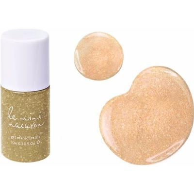 Le Mini Macaron Gel Polish Gold Glitter 10ml