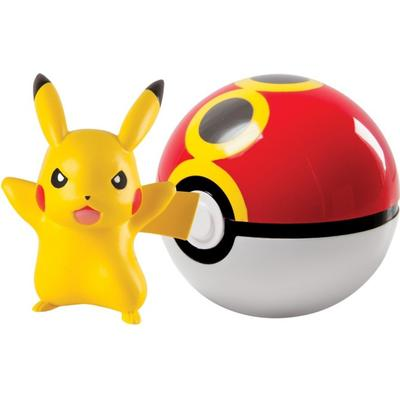 Tomy Clip n Carry Poké Ball Pikachu & Repeat Ball