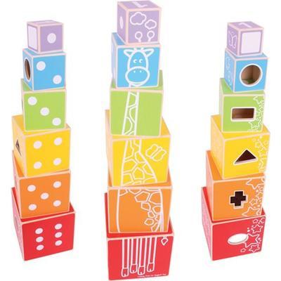 Bigjigs Stacking Cubes
