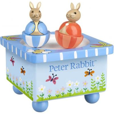 Orange Peter Rabbit Music Box