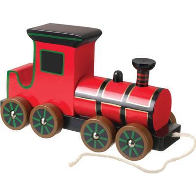 Orange Steam Train Pull Along