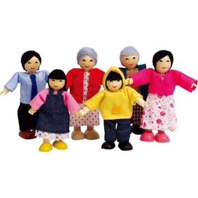 HapeToys Happy Family Asian