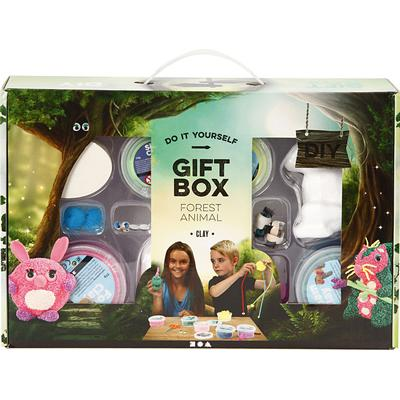 Foam Clay Gift Box Forest Animals 1-pack