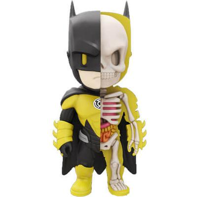 Mighty Jaxx XXRAY Batman Yellow Lantern