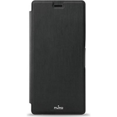 Puro Eco-Leather Wallet Case (Ascend P9 Lite)