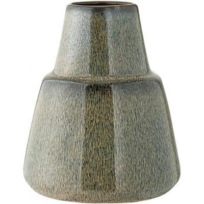 Bloomingville Vas, Blå, Stengods höjd 13 cm