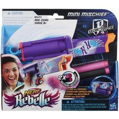 Nerf Rebelle Secrets & Spies Mini Mischief Blaster